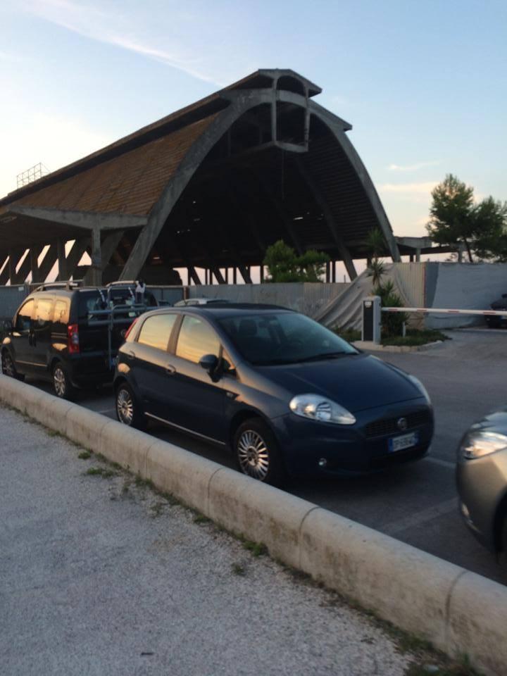 Ex stabilimento Montecatini Porto Recanati Montedison