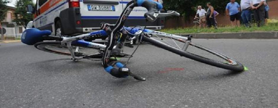 Ciclista investito a Porto Recanati