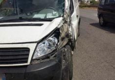 Urta un furgone a Porto Recanati