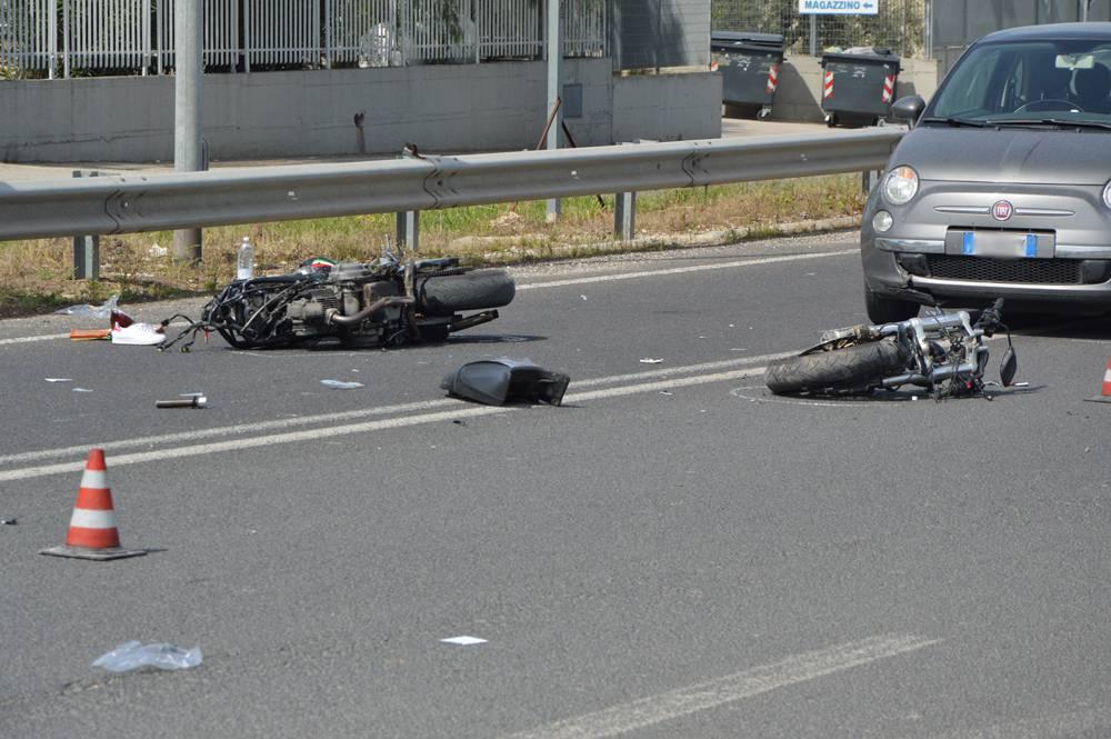 Incidente Moto Auto Porto Recanati