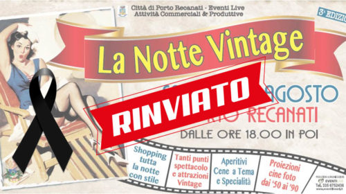 Notte Vintage Rinviata