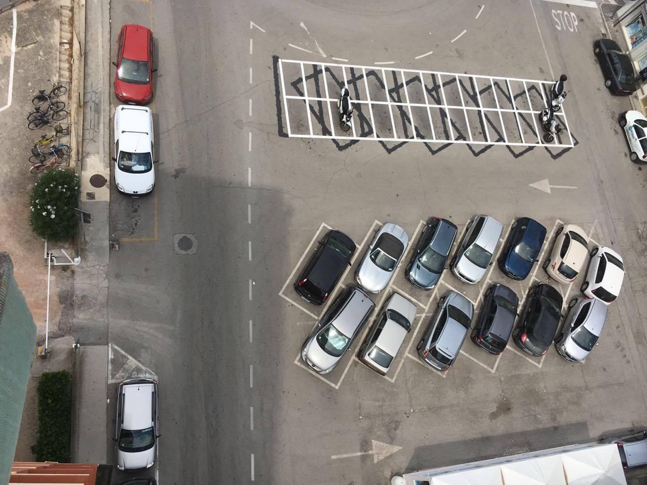 Parcheggi Via Pastrengo Porto Recanati