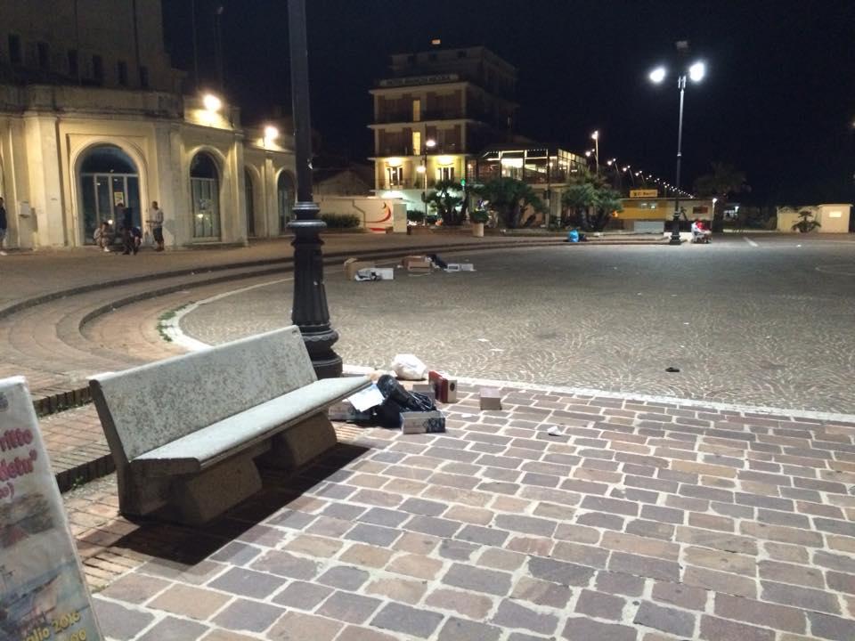 Ambulanti Multati Porto Recanati