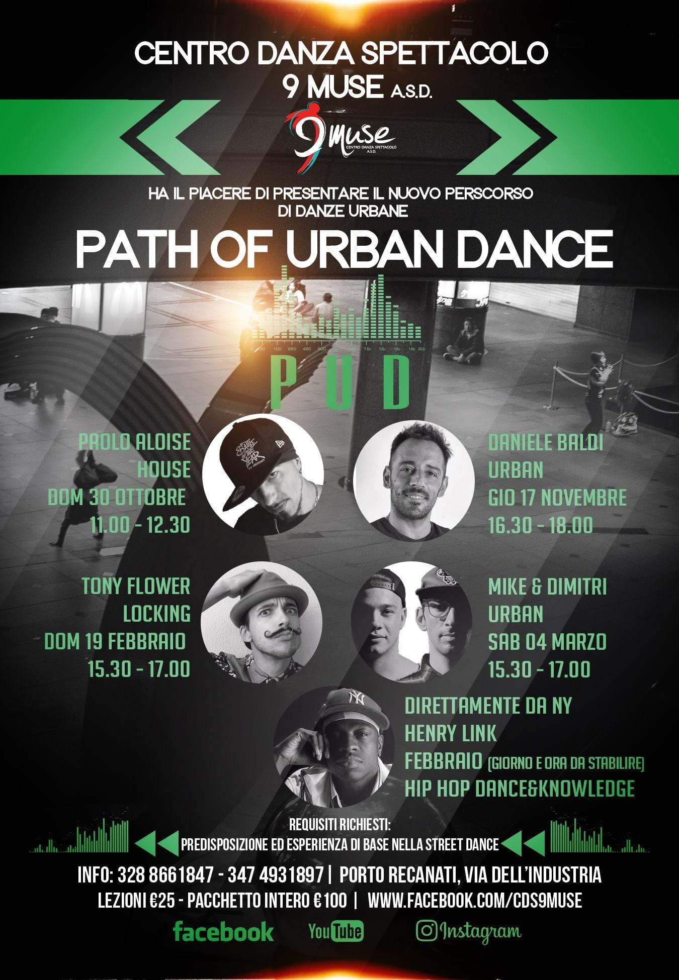 Path of Urban Dance - Percorso Danze Urbane