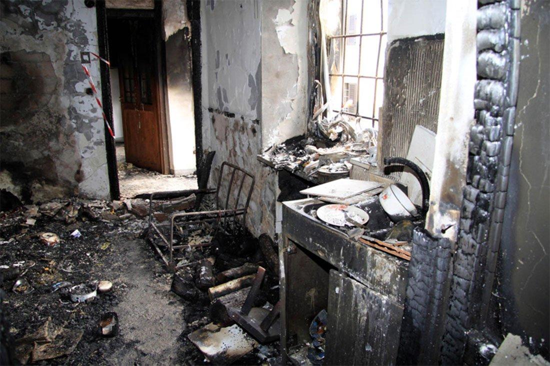 Incendio Casa Porto Recanati