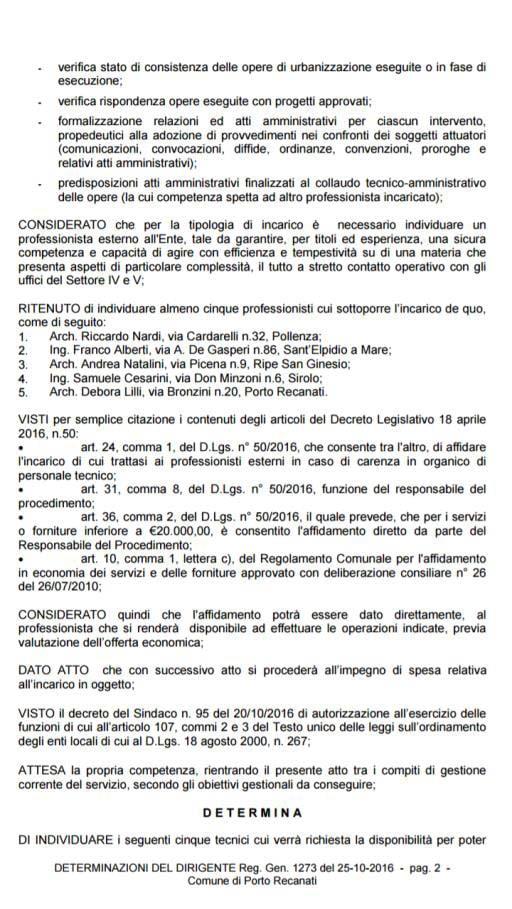 Comunicato Upp Porto Recanati