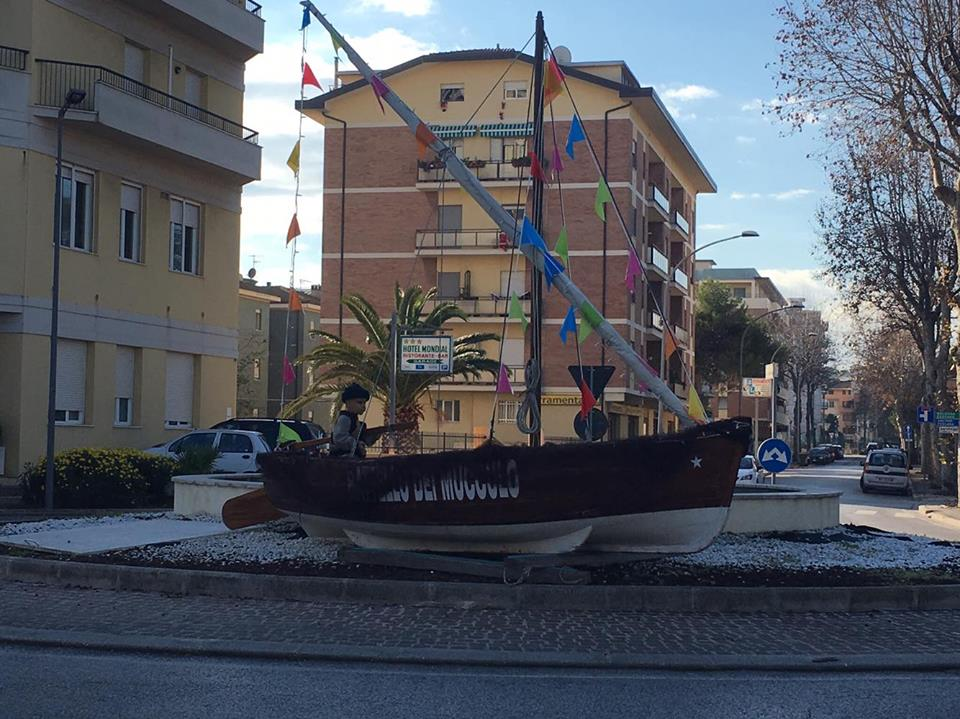 Barca Sciabbega Rotatoria Nord
