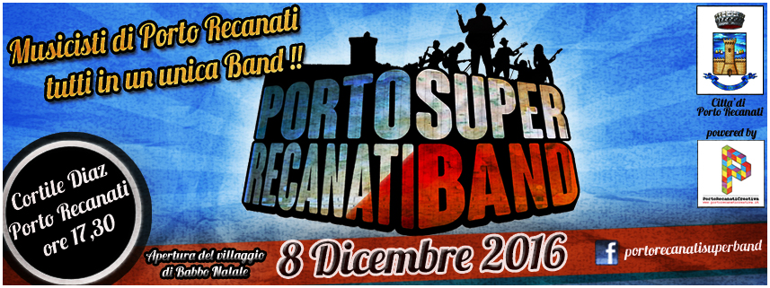 PortoRecanati SuperBand Natale