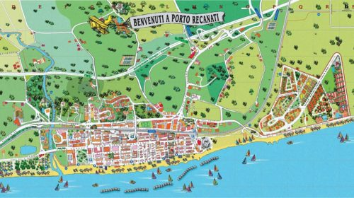 Cartina PortoRecanati