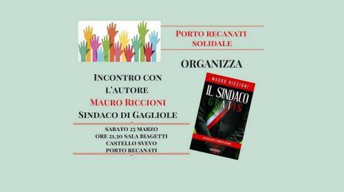 Porto Recanti Solidale Incontra Mauro Riccioni