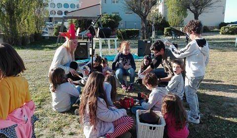 Inaugurazione Casetta dei Libri Junior