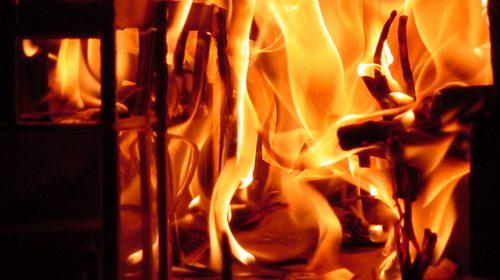 Incendio Riva al Mare