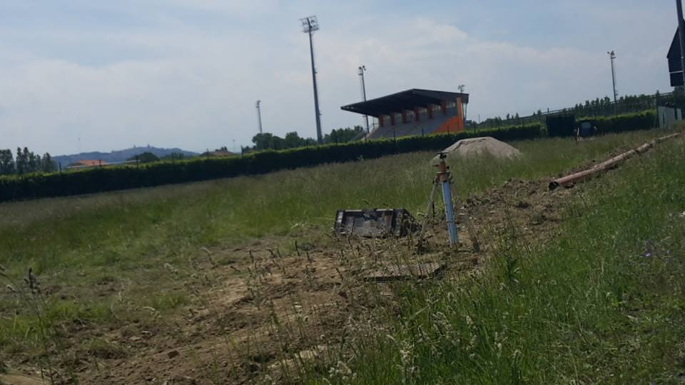 Lavori Campo Sportivo Porto Recanati