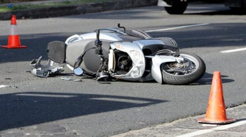 Incidente Scooter 55enne Grave