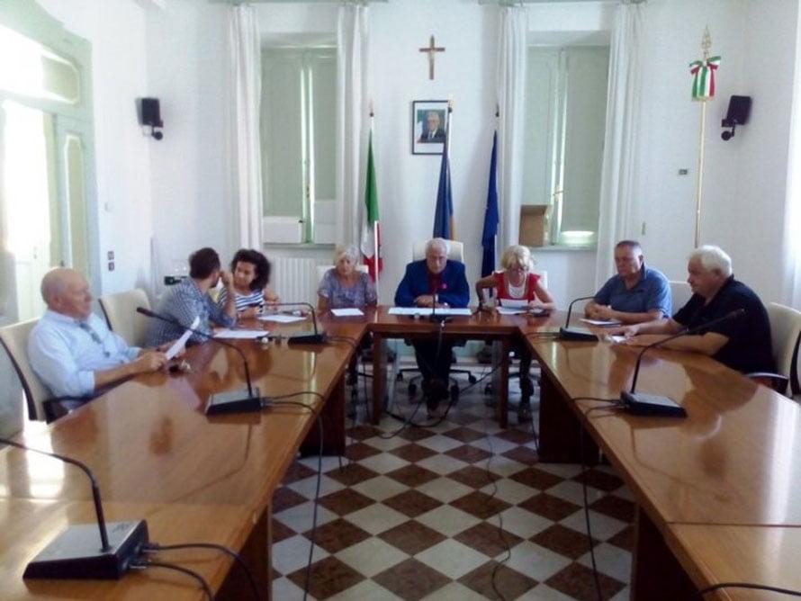 Conferenza Stampa Giunta Mozsicafreddo